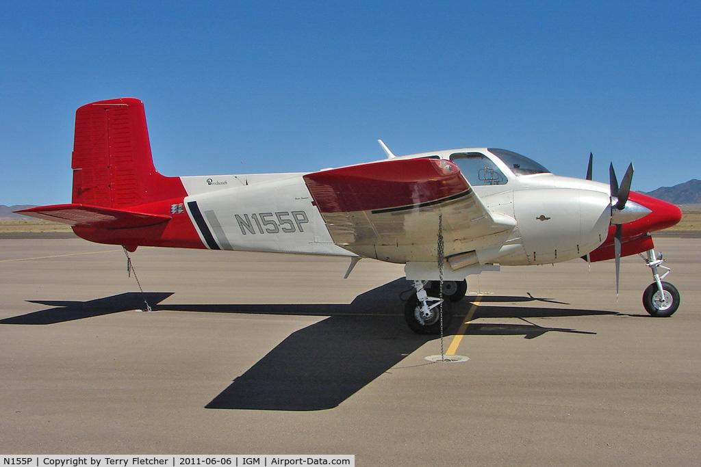 N155P, 1956 Beech D-50 C/N DH-76, 1956 Beech D-50, c/n: DH-76 at Kingman