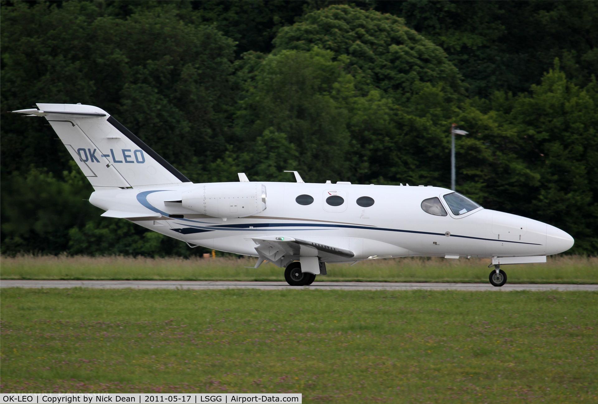 OK-LEO, 2009 Cessna 510 Citation Mustang Citation Mustang C/N 510-0252, LSGG/GVA