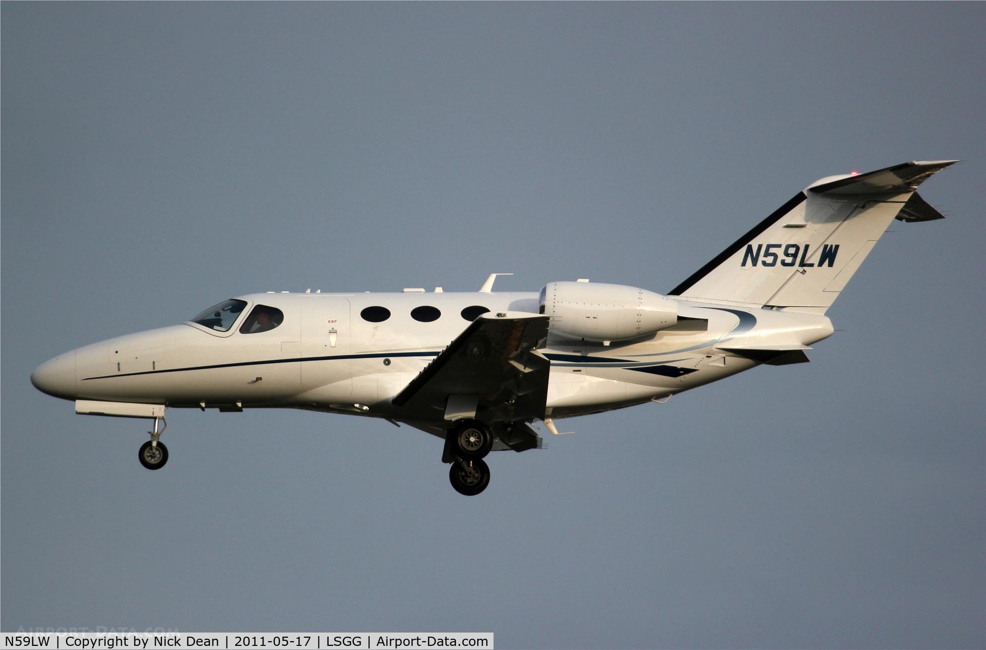 N59LW, 2009 Cessna 510 Citation Mustang Citation Mustang C/N 510-0213, LSGG/GVA
