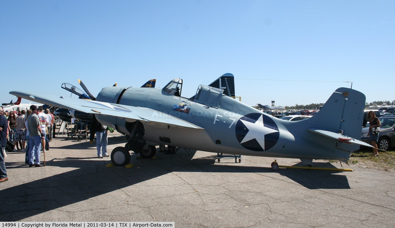 14994, General Motors (Grumman) FM-1 Wildcat C/N Not found 14994, FM-1 Wildcat
