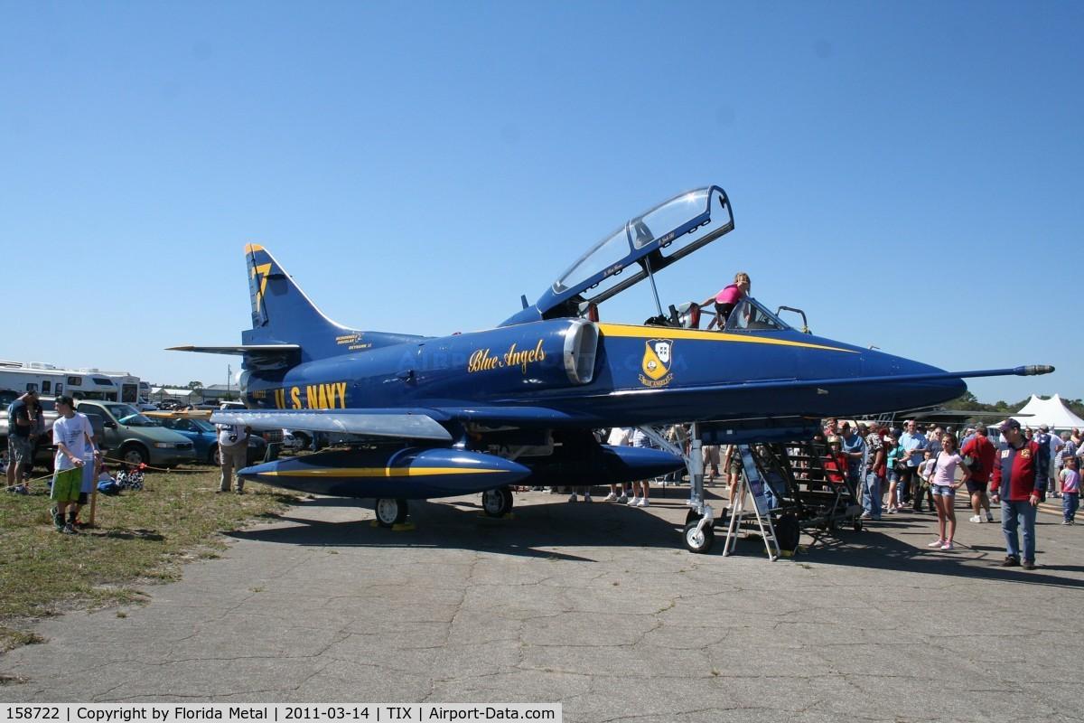 158722, Douglas TA-4J Skyhawk C/N 14343, TA-4J skyhawk
