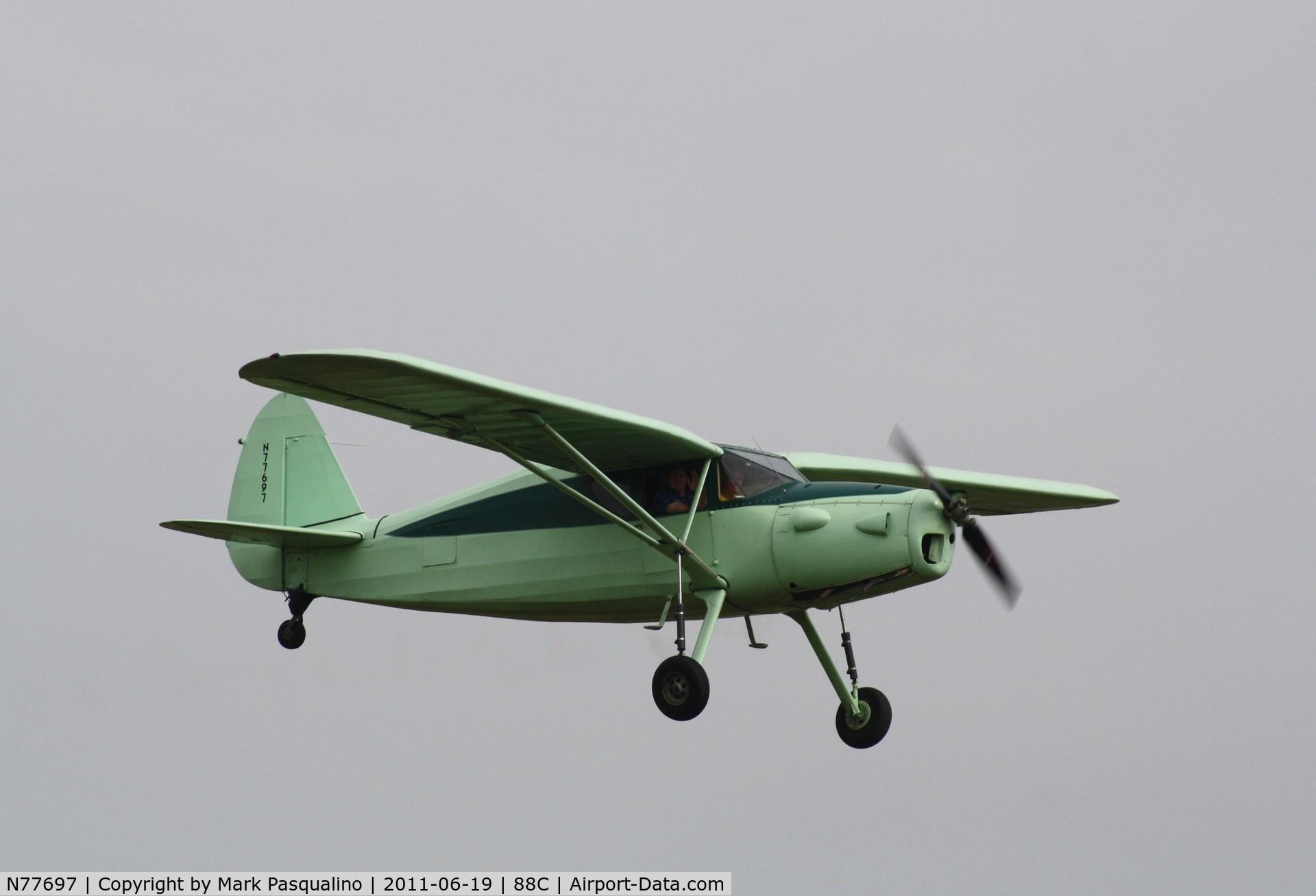 N77697, 1947 Fairchild 24R-46A C/N R46-339, Fairchild 24R-46A