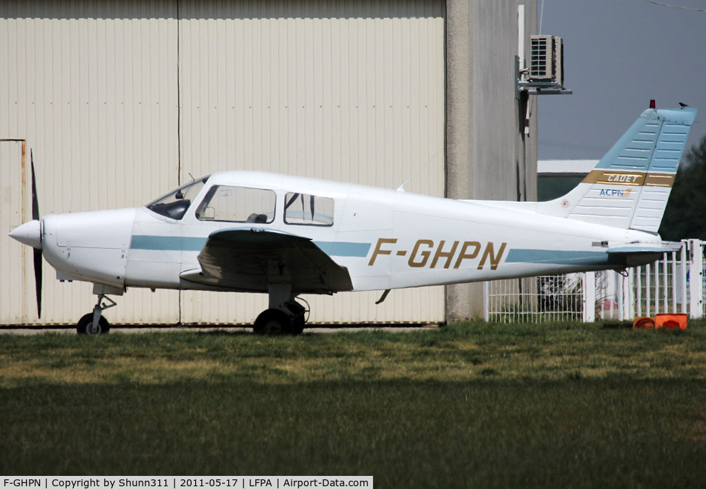 F-GHPN, Piper PA-28-161 Warrior II C/N 28-41252, Parked...