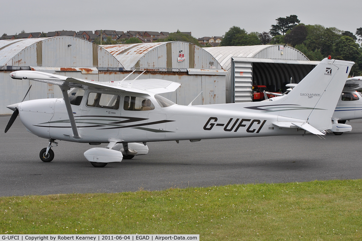 G-UFCI, 2007 Cessna 172S Skyhawk C/N 172S-10508, Parked for the fly-in