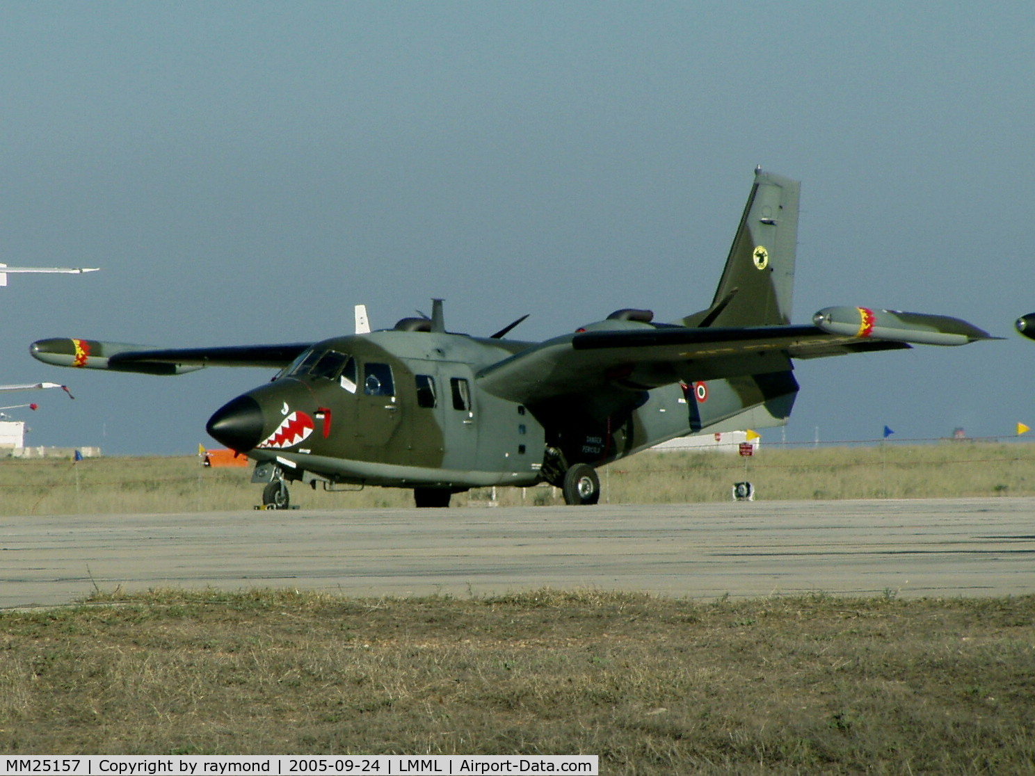 MM25157, Piaggio P-166DL-3 C/N 476, P166 MM25157 Italian Air Force