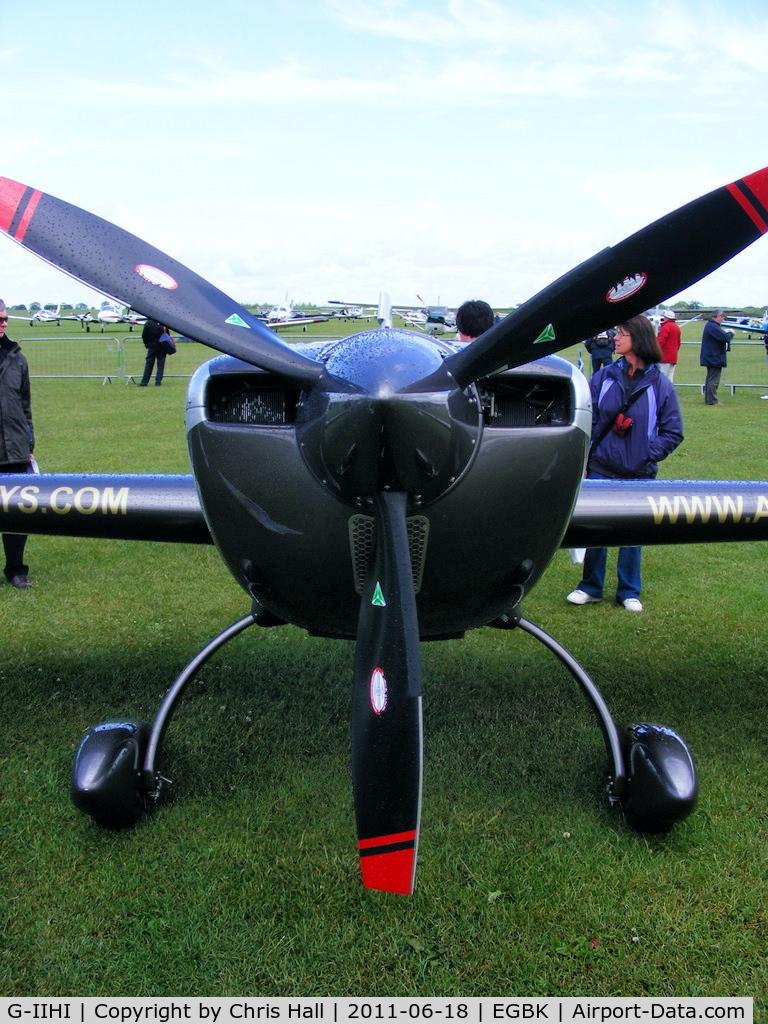 G-IIHI, 2008 Extra EA-300SC C/N SC008, at AeroExpo 2011