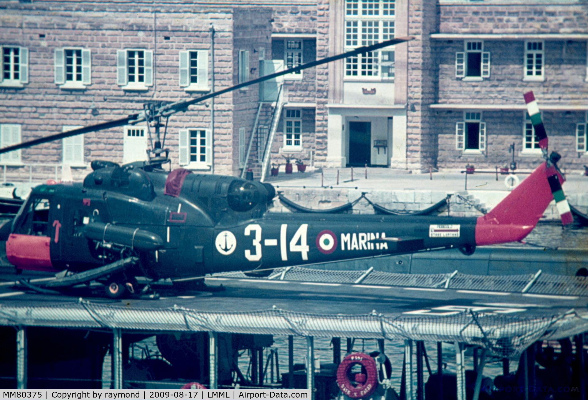 MM80375, Agusta AB-204 C/N 3146, AB204 MM80375/3-14 Italian Navy