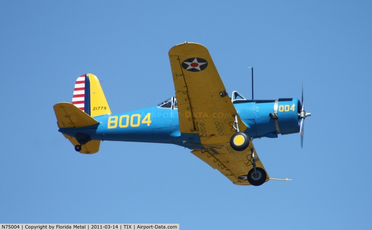 N75004, 1942 Convair BT-15 C/N 6720, BT-15