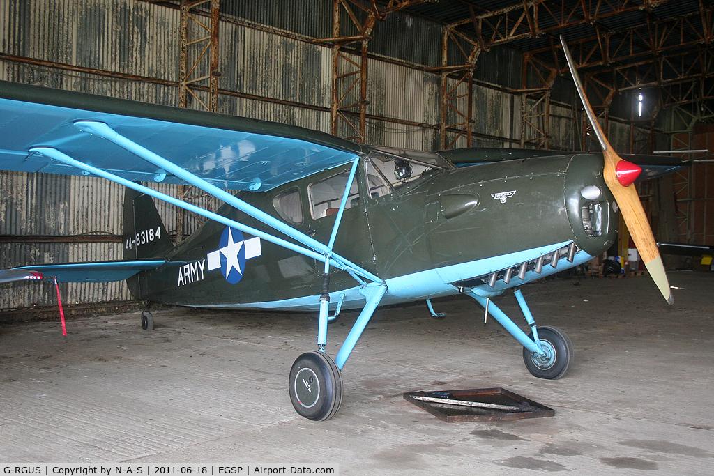 G-RGUS, 1946 Fairchild UC-61K Argus III (24R-46A) C/N 1145, Based
