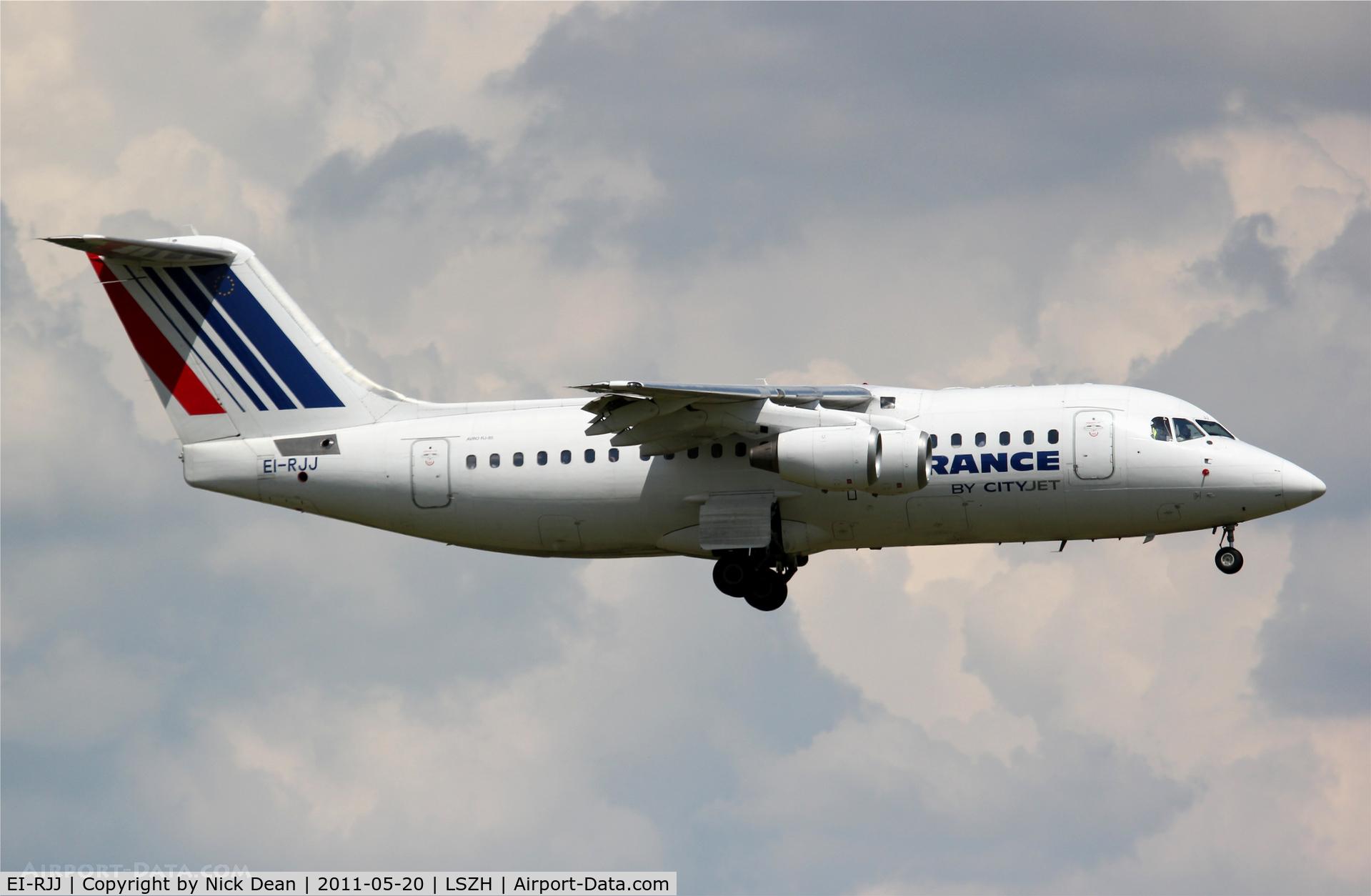 EI-RJJ, 1999 BAE Systems Avro 146-RJ85 C/N E.2347, LSZH/ZRH