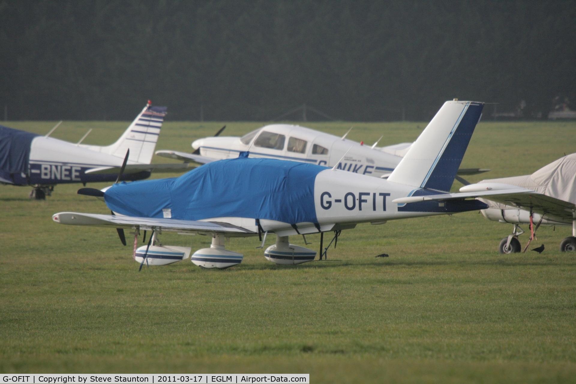 G-OFIT, 1989 Socata TB-10 Tobago C/N 938, Taken at White Waltham Airfield March 2011