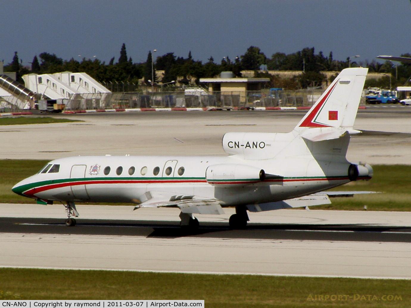 CN-ANO, 1979 Dassault Falcon 50 C/N 12, DA50 CN-ANO Royal Marrocco Air Force