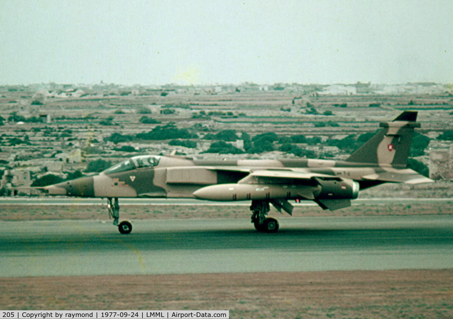205, 1977 Sepecat Jaguar S C/N 210/S(O)3, Sepecat Jaguar 205 Oman Air Force