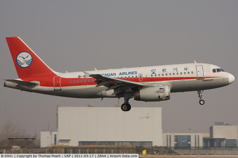 B-5441, 2009 Boeing 737-87L C/N 35536, Shenzhen Airlines