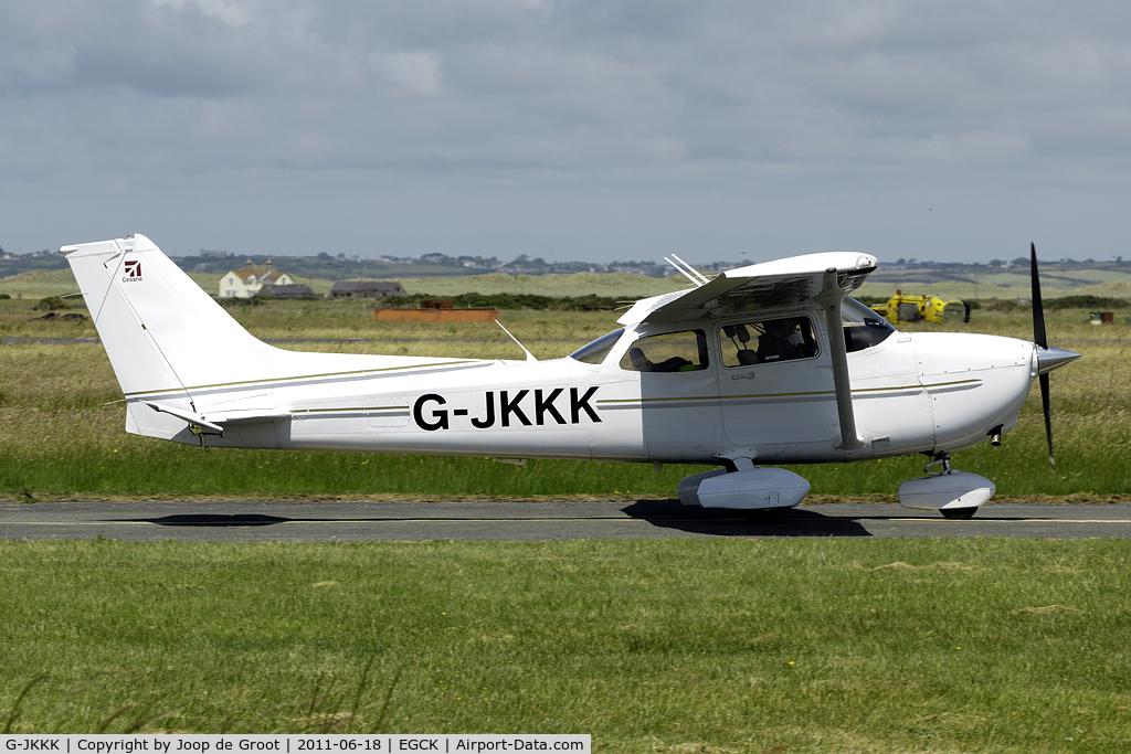G-JKKK, 2008 Cessna 172S Skyhawk C/N 172S10663, at Caernarfon airfield