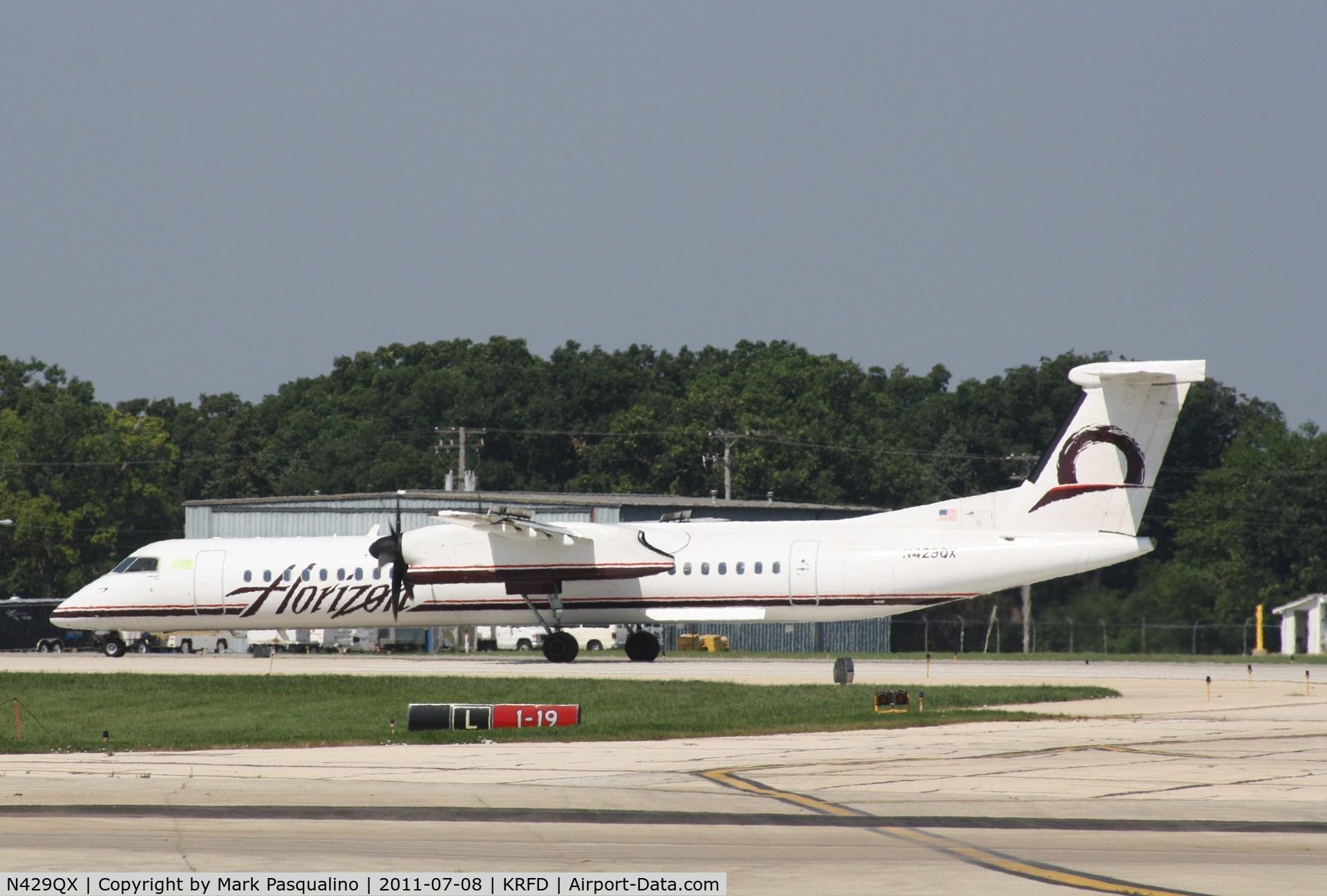 N429QX, 2007 De Havilland Canada DHC-8-402 Dash 8 C/N 4161, DHC-8-400