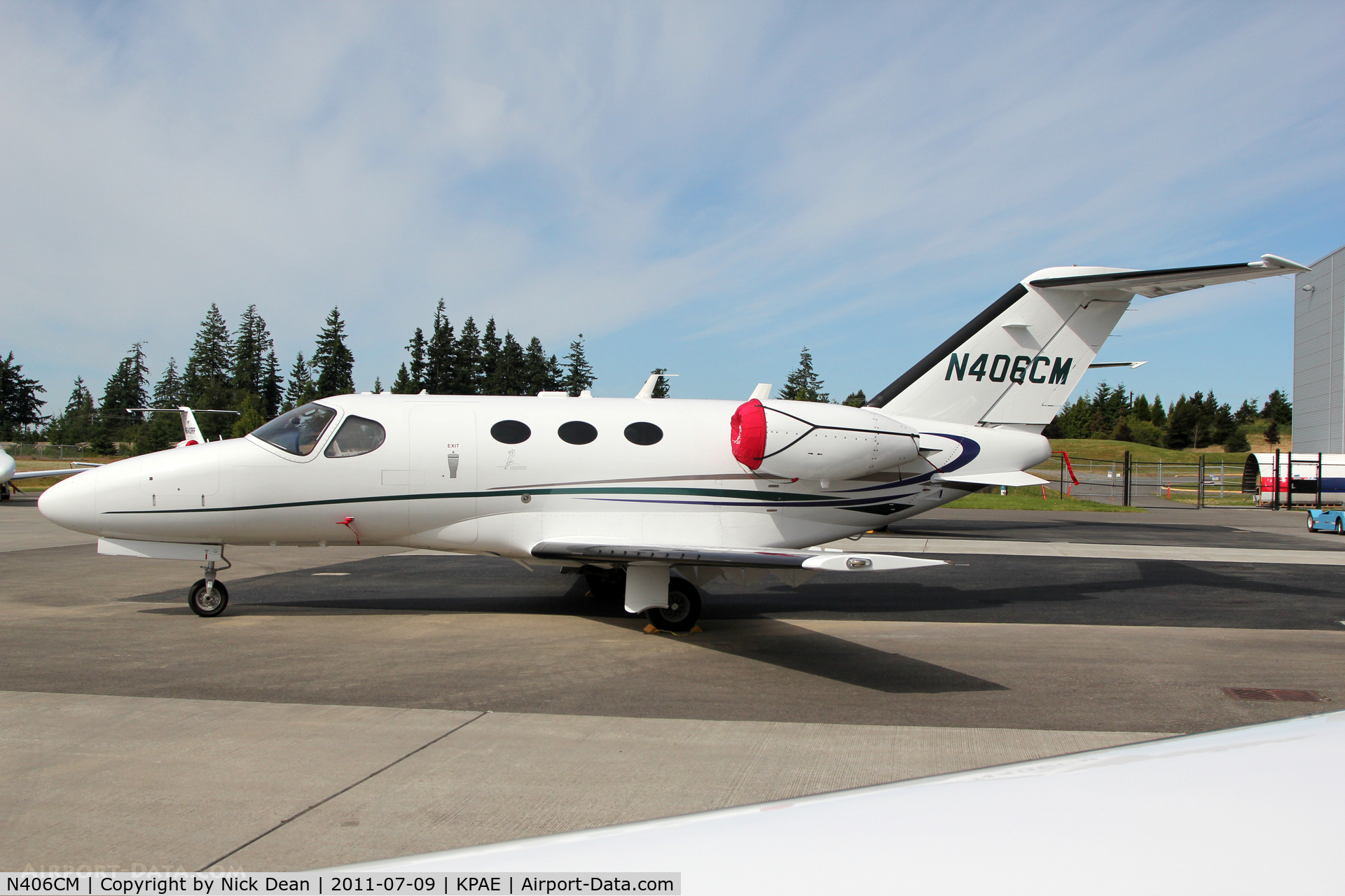N406CM, 2007 Cessna 510 Citation Mustang Citation Mustang C/N 510-0015, KPAE/PAE