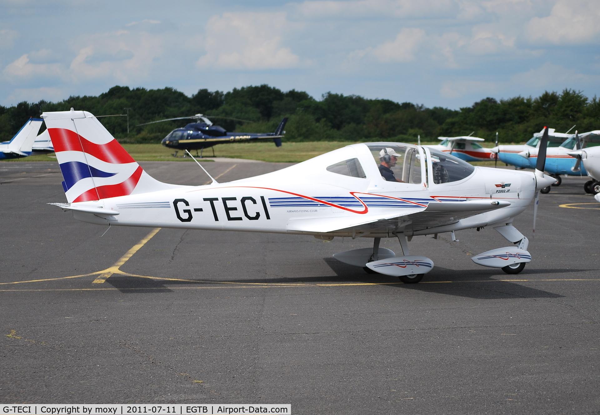 G-TECI, 2010 Tecnam P-2002JF Sierra C/N 127, Tecnam P2002-JF at Wycombe Air Park