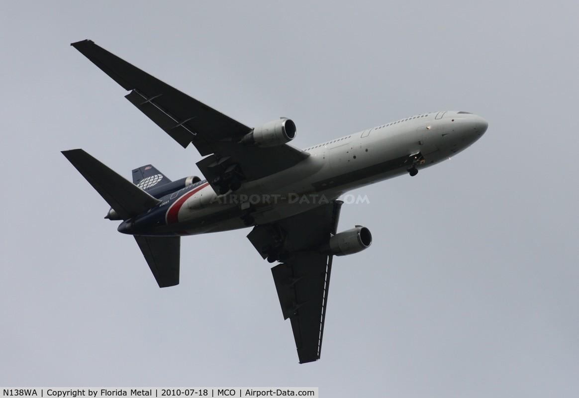 N138WA, 1981 McDonnell Douglas DC-10-30 C/N 47845, World DC-10