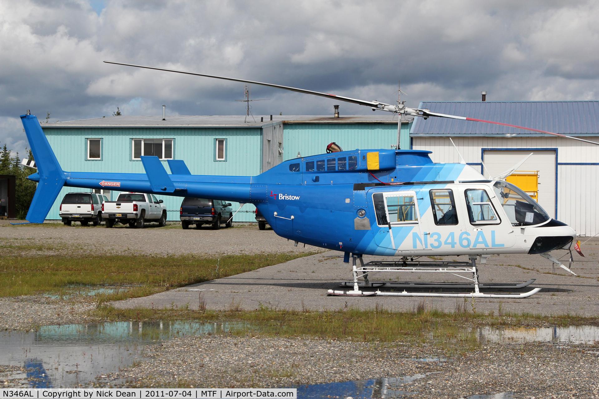 N346AL, Bell 206L-3 LongRanger III C/N 51378, MTF Metro Field