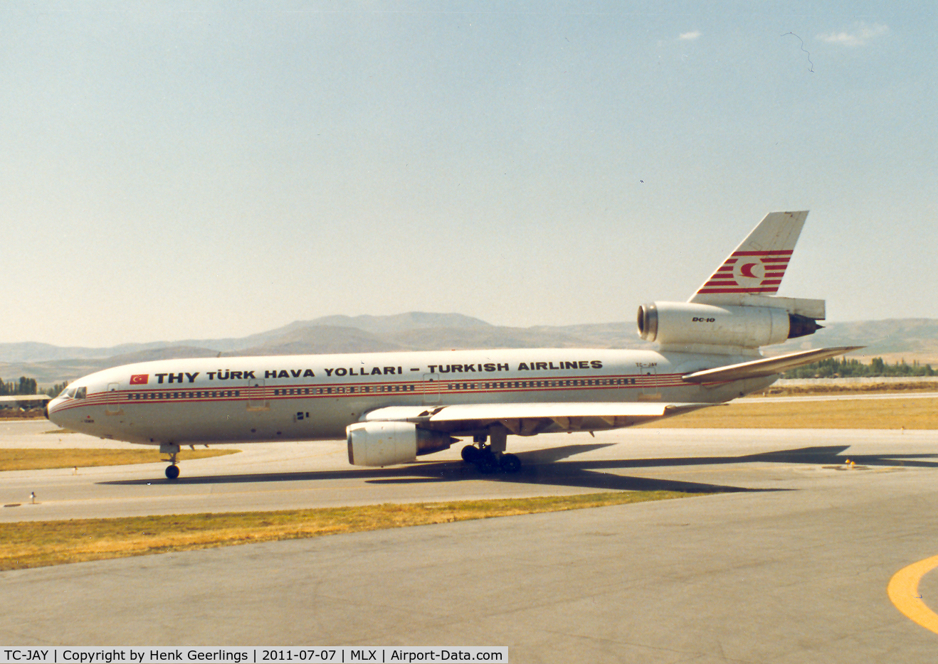 TC-JAY, 1973 McDonnell Douglas DC-10-10F C/N 46907, Turkish Airlines