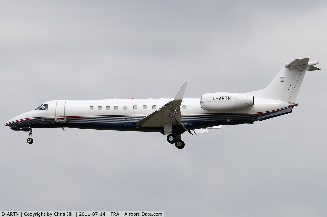 D-ARTN, Embraer EMB-135BJ Legacy C/N 14500941, Private
