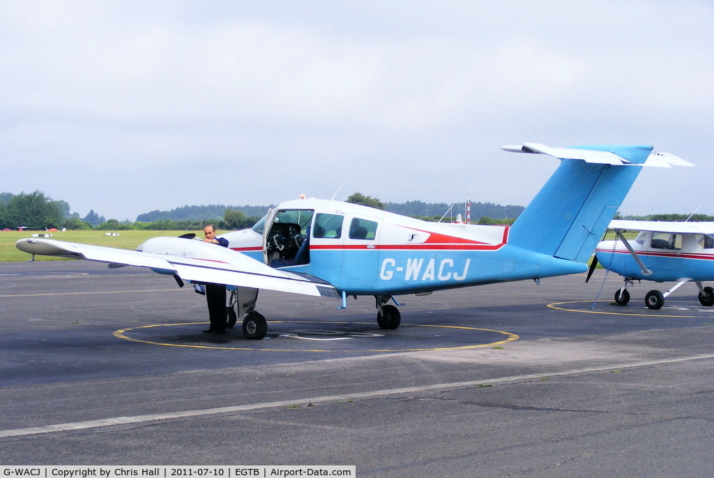 G-WACJ, 1980 Beech 76 Duchess C/N ME-278, Wycombe Air Centre Ltd
