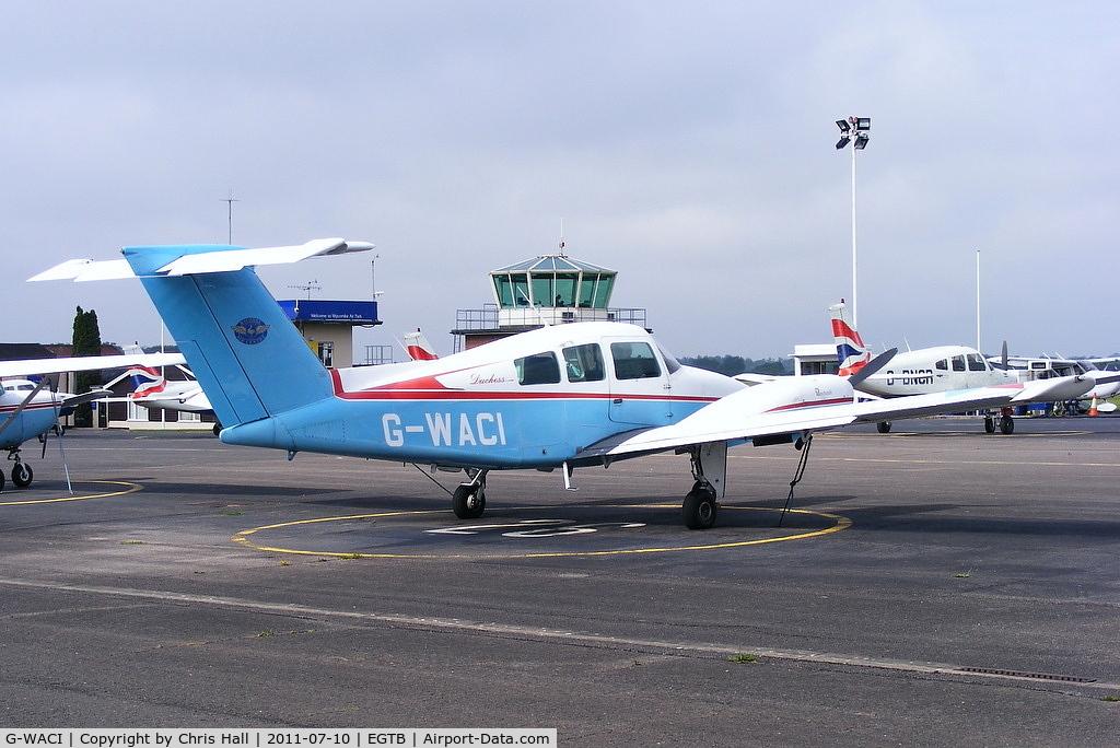 G-WACI, 1979 Beech 76 Duchess C/N ME-289, Wycombe Air Centre Ltd