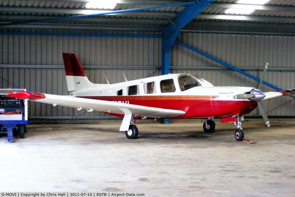G-MOVI, 1983 Piper PA-32R-301 Saratoga SP C/N 32R-8313029, G-BOON Ltd