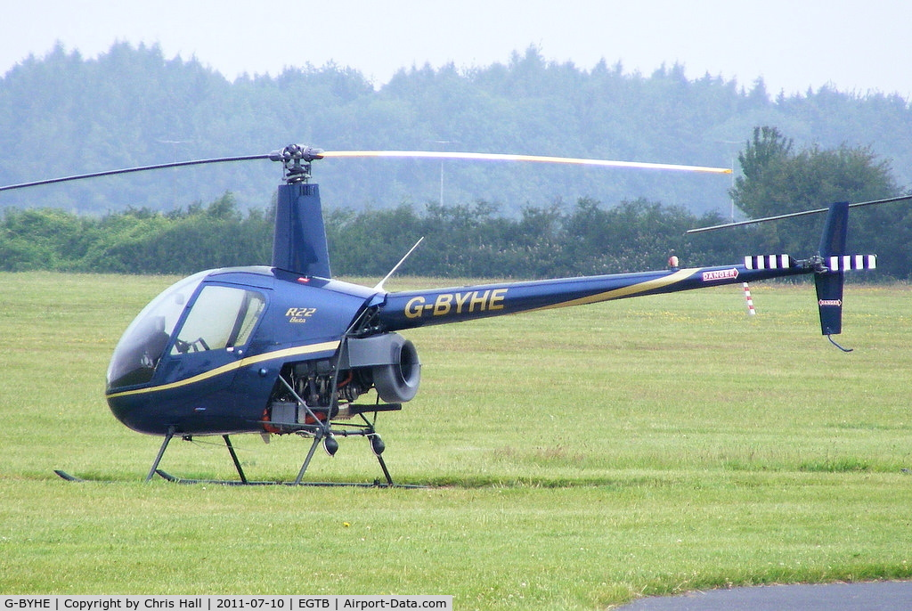 G-BYHE, 1991 Robinson R22 Beta C/N 2023, Helicopter Services Ltd