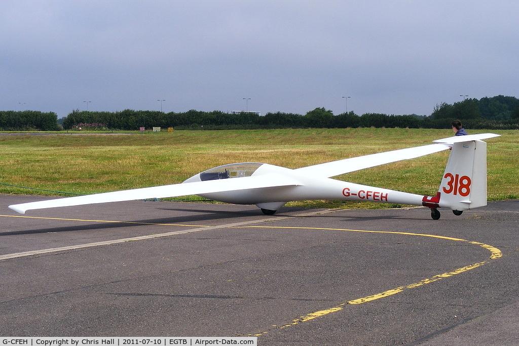 G-CFEH, 1986 Centrair C101 Pegase C/N 101-00268/2, Booker Gliding Club