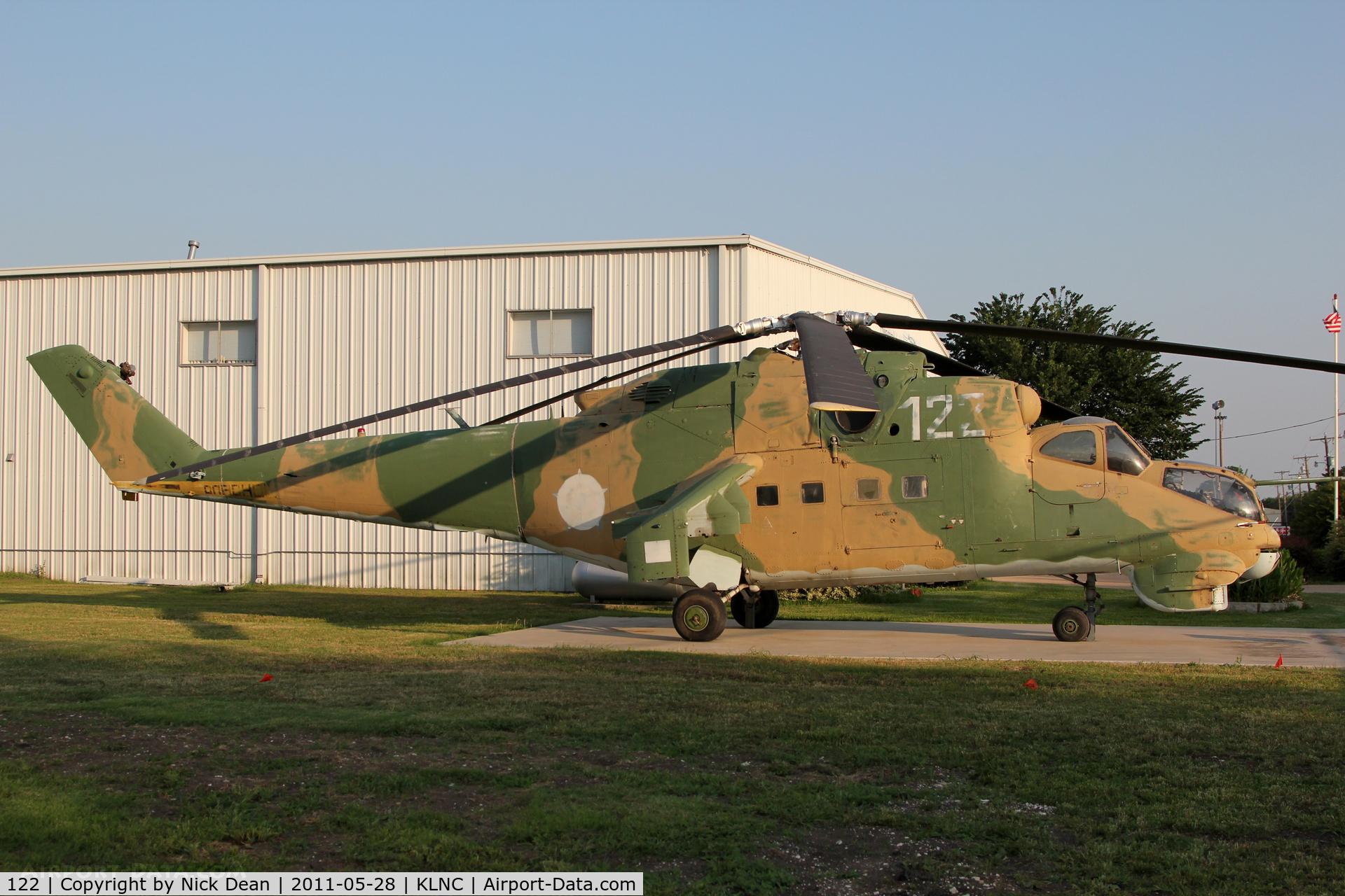 122, Mil Mi-24D Hind D C/N 730203, KLNC/LNC