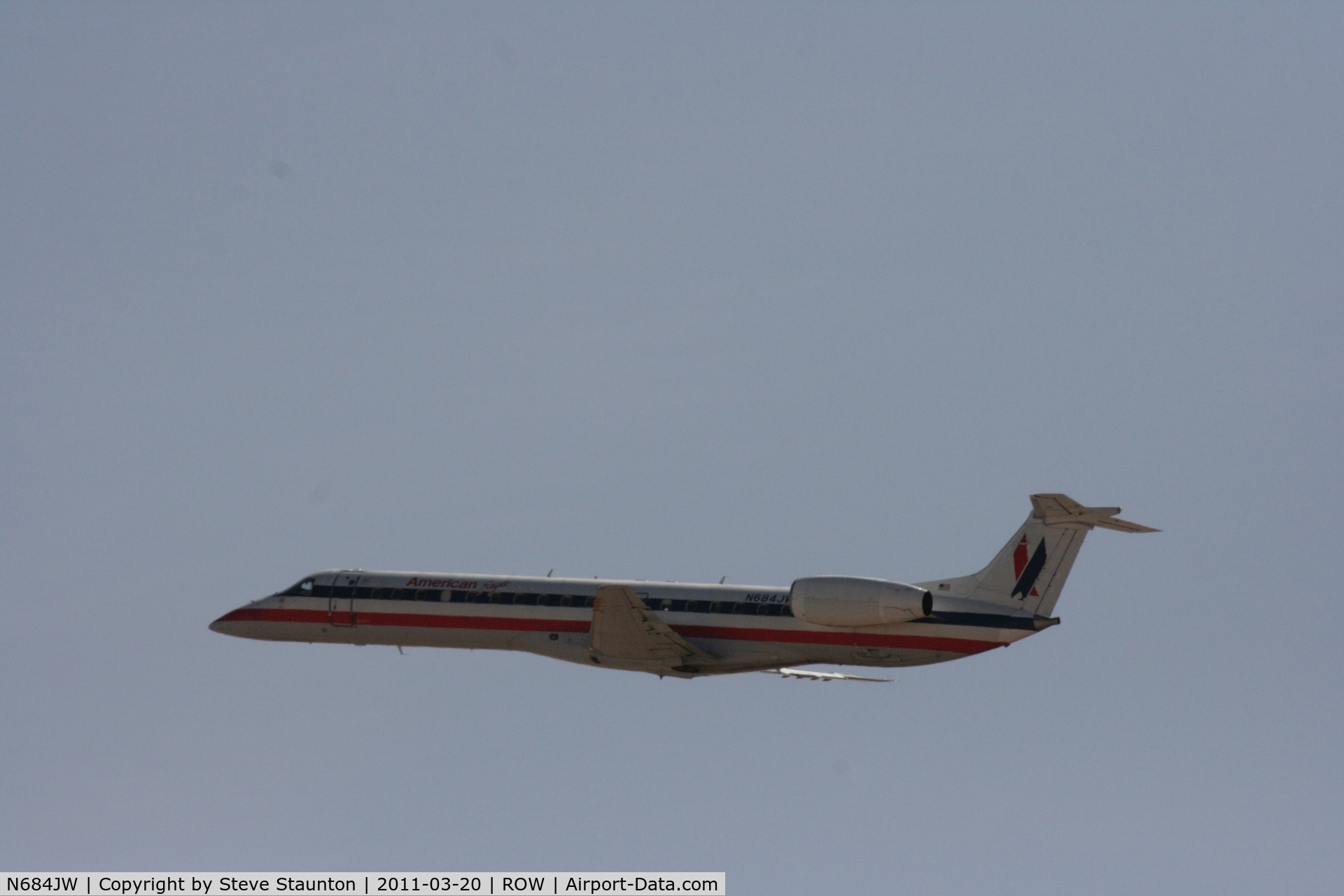 N684JW, 2004 Embraer ERJ-145LR (EMB-145LR) C/N 14500835, Taken at Roswell International Air Centre Storage Facility, New Mexico in March 2011 whilst on an Aeroprint Aviation tour