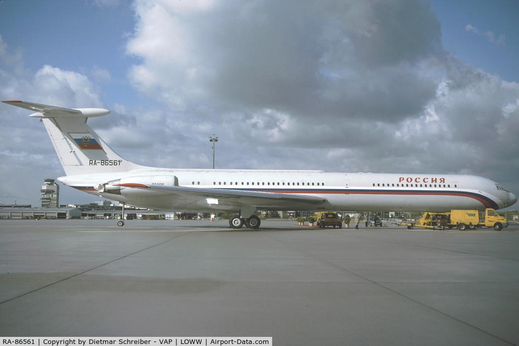 RA-86561, 1992 Ilyushin Il-62M C/N 4154842, Rossija Ilyushin 62
