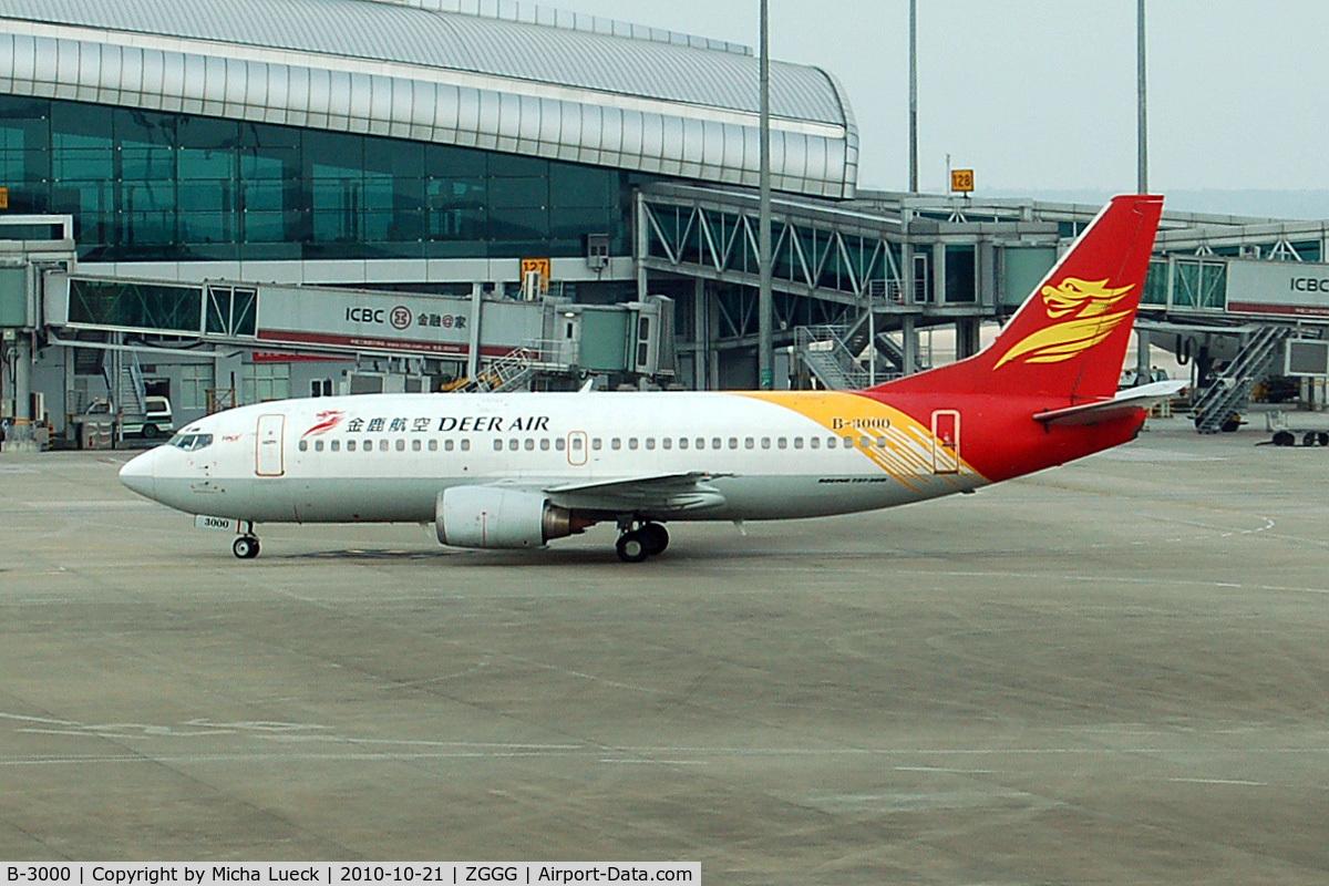 B-3000, 1998 Boeing 737-36Q C/N 29326, At Guangzhou