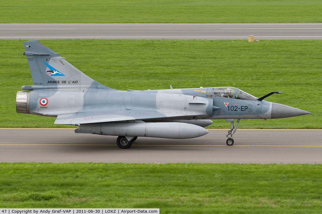 47, Dassault Mirage 2000-5F C/N 217, French Air Force Mirage 2000
