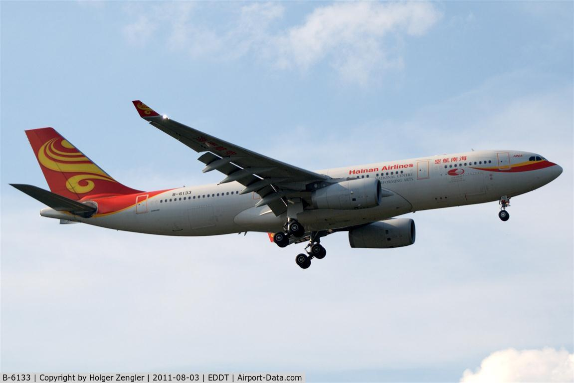 B-6133, 2009 Airbus A330-243 C/N 982, Final approach of a dragons long ride from Bejing