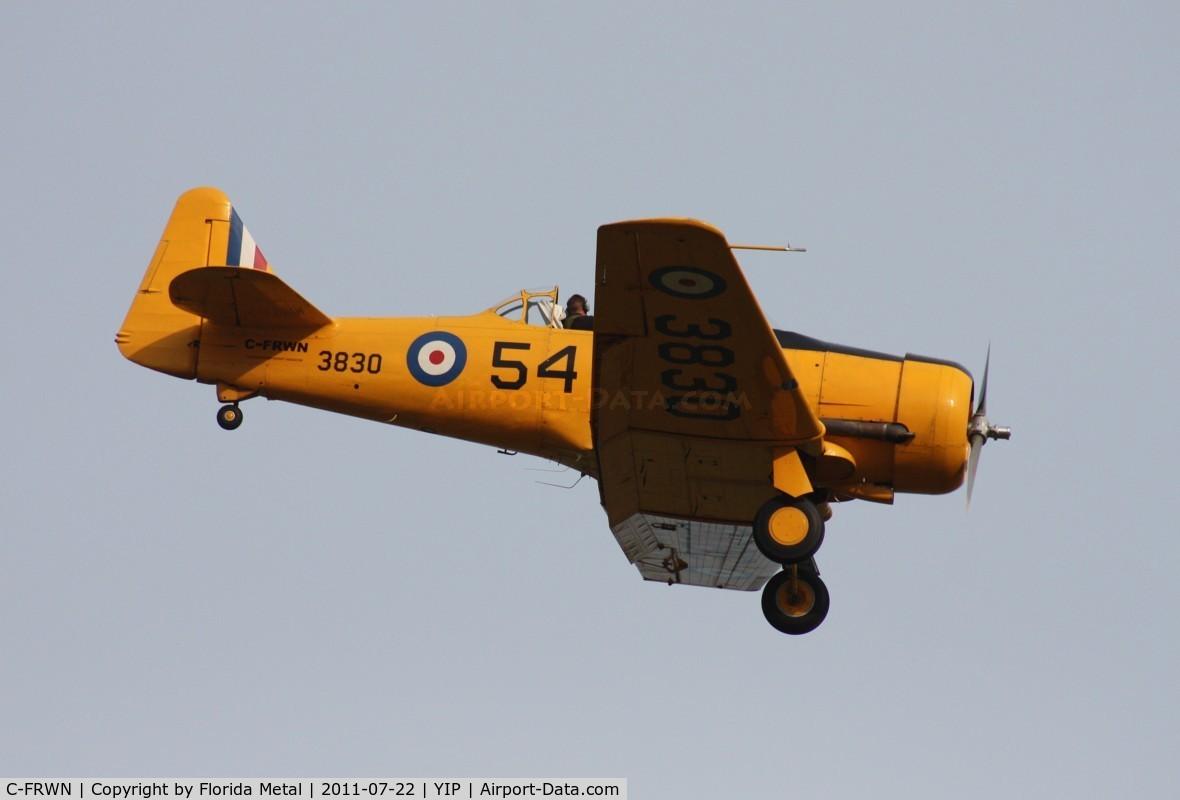 C-FRWN, 1942 Noorduyn AT-16 Harvard II C/N 81-4097, Harvard