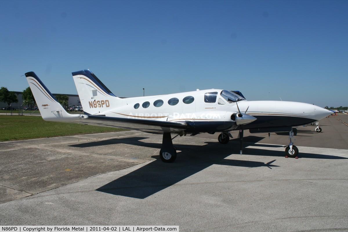 N86PD, 1982 Cessna 414A Chancellor C/N 414A0837, Cessna 414A
