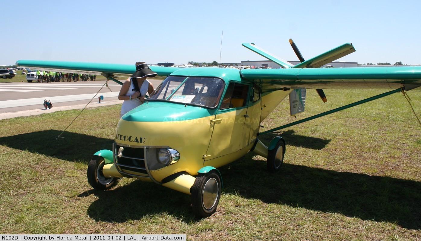N102D, 1960 Aerocar I C/N 4, Aerocar