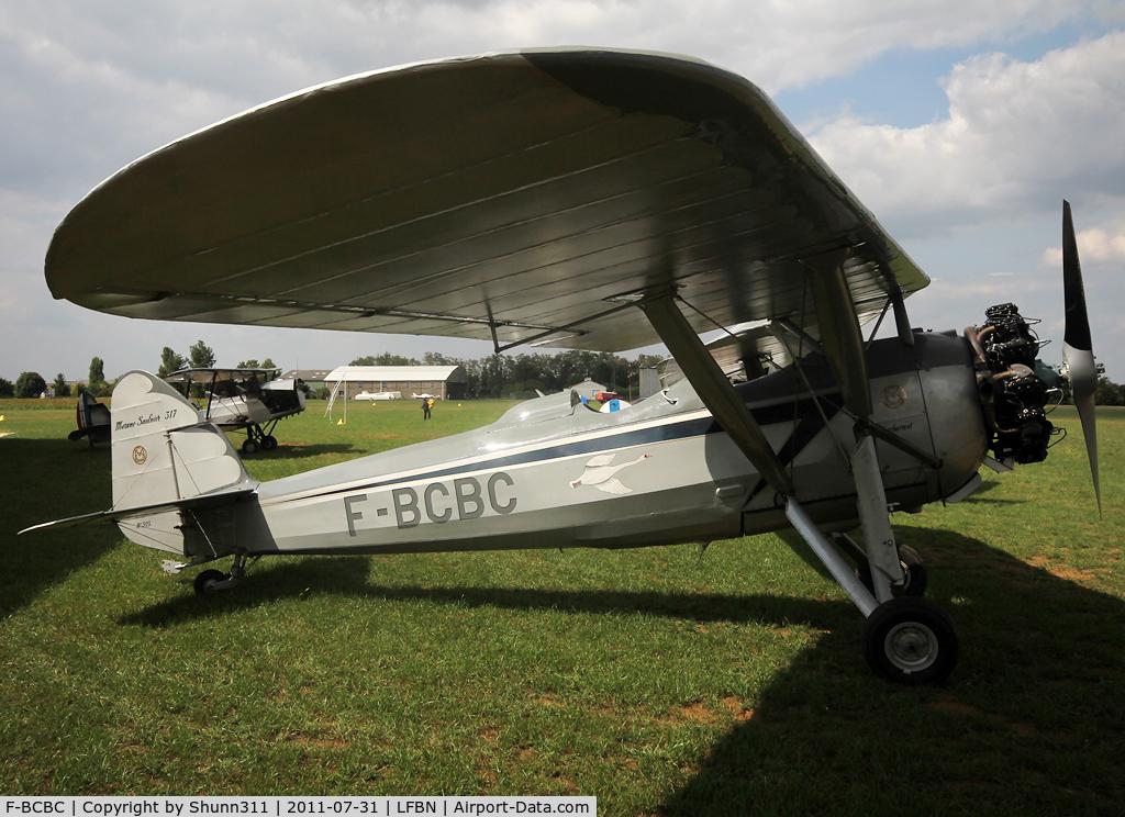 F-BCBC, Morane-Saulnier MS.317 C/N 323, Parked on the grass...
