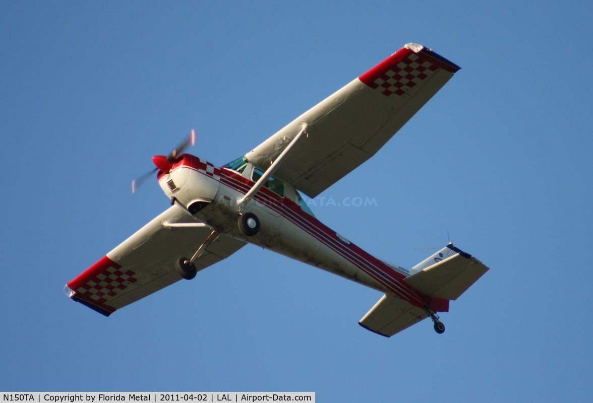 N150TA, 1976 Cessna A150L Aerobat C/N A1500683, Cessna A150L