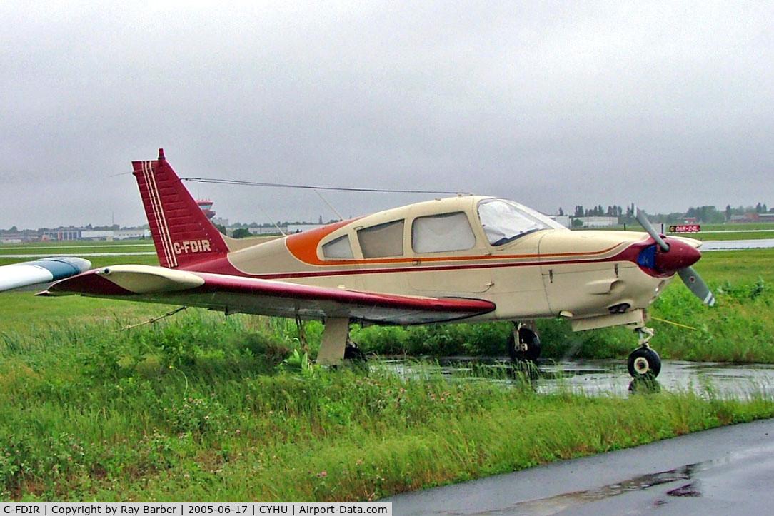 C-FDIR, 1972 Piper PA-28R-200 C/N 28R-7235272, Piper PA-28R-200 Cherokee Arrow II [28R-7235272] St.Hubert~C 17/06/2005.