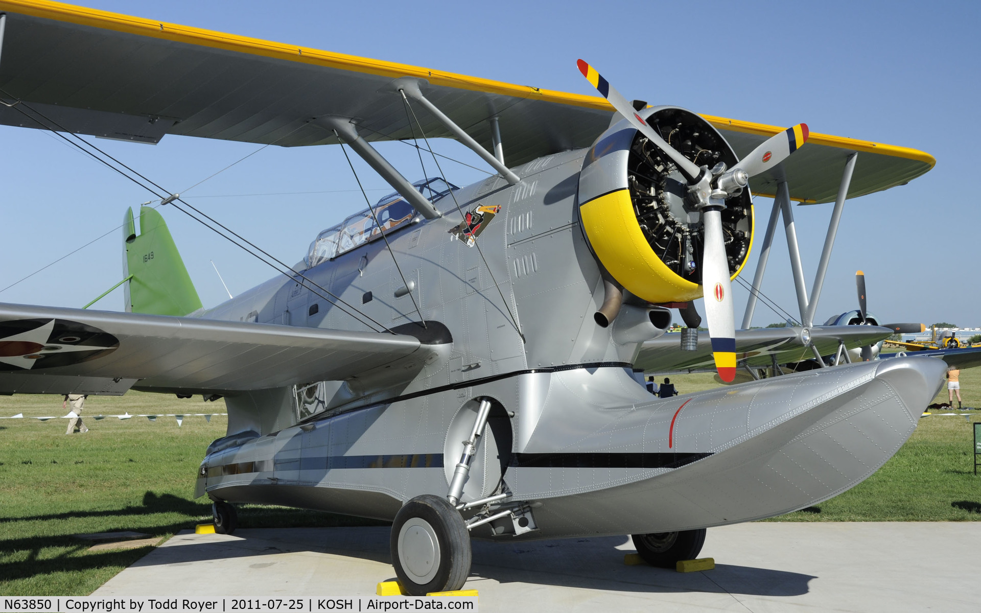 N63850, 1939 Grumman J2F-4 C/N 1649, Last airworthy aircraft that was present at Pearl Harbor when attacked by the Japanese.