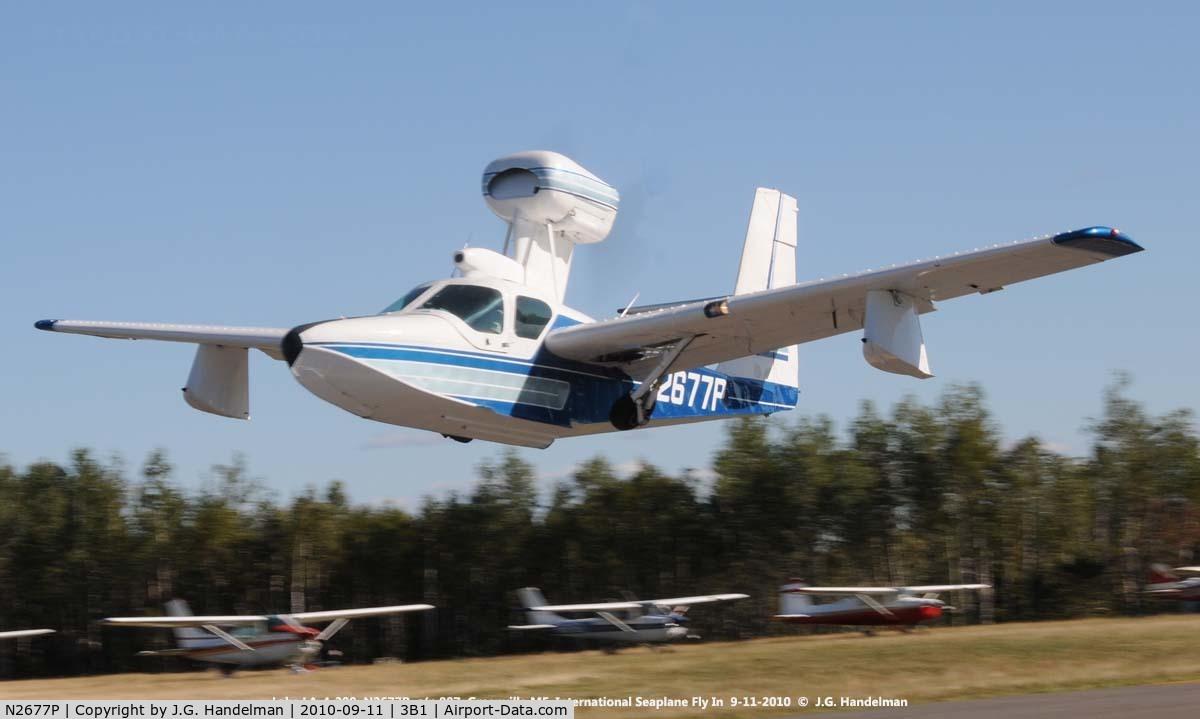 N2677P, 1978 Consolidated Aeronautics Inc. LAKE LA-4-200 C/N 887, take off from land