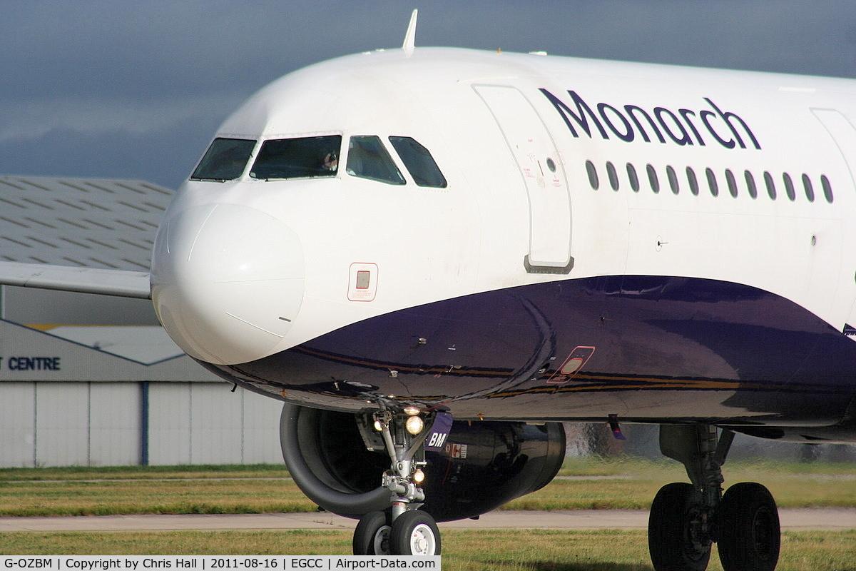 G-OZBM, 1999 Airbus A321-231 C/N 1045, Monarch