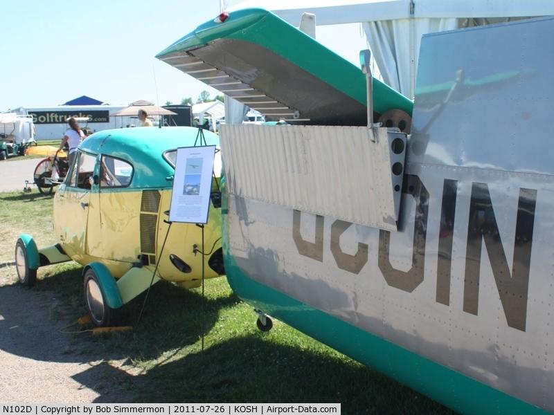 N102D, 1960 Aerocar I C/N 4, On display at Airventure 2011.