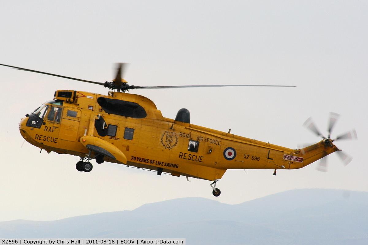 XZ596, 1978 Westland Sea King HAR.3 C/N WA862, RAF 22 Sqn C Flight