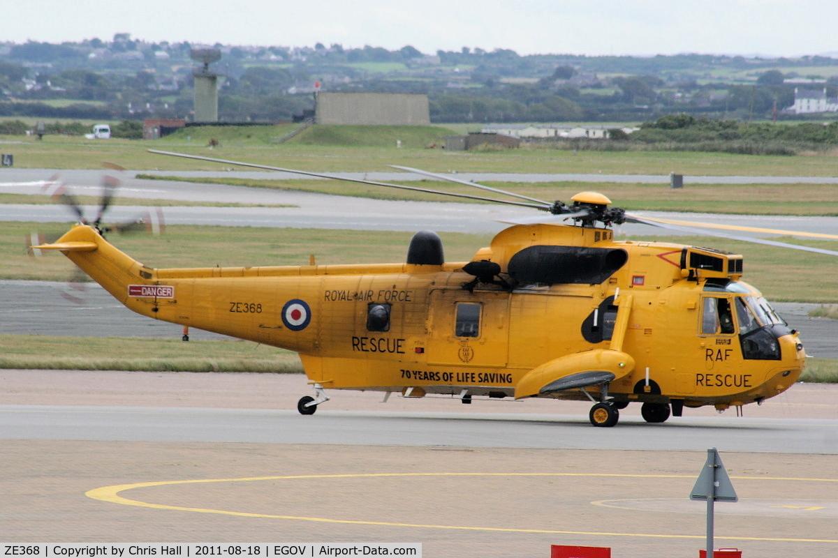ZE368, 1985 Westland Sea King HAR.3 C/N WA947, RAF 22 Sqn C Flight