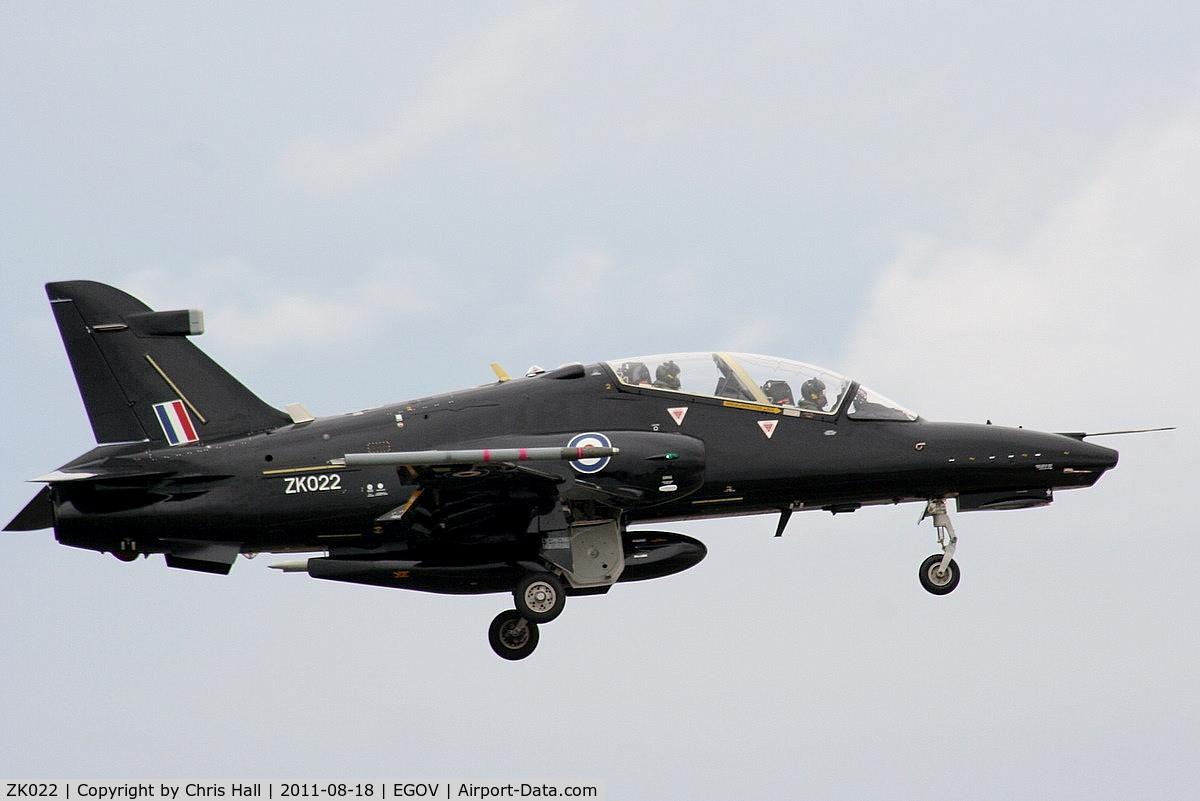 ZK022, 2009 British Aerospace Hawk T2 C/N RT013/1251, RAF 19(R)Sqn